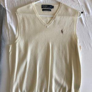 Ralph Lauren V-neck cashmere sweater vest
